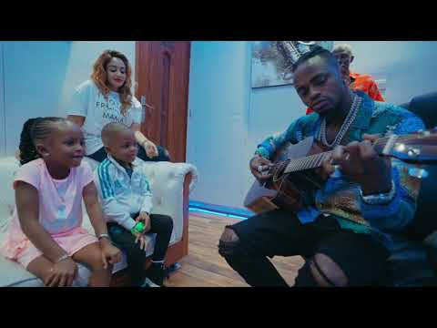 Diamond Platnumz Gets To See His Kids After 2 Years!! (Part1)