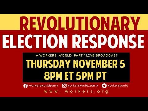 Revolutionary Election Response