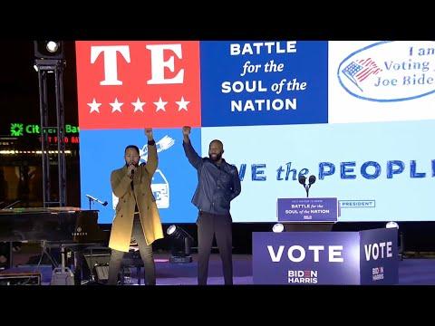 John Legend, Common - Glory (Joe Biden Rally in Philadelphia)