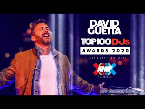 David Guetta | AMF Presents Top 100 DJs Awards 2020