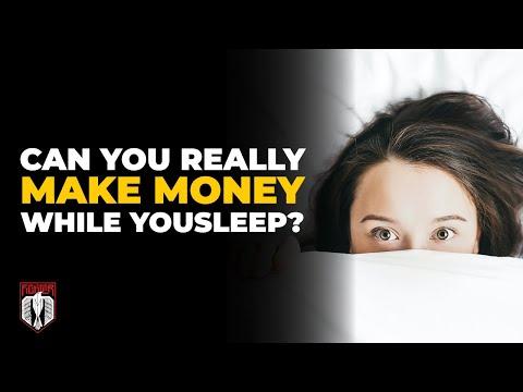 Can You REALLY Make Money While You Sleep?