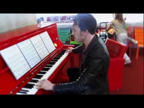 Henri Rocks It In Charles De Gaulle Airport