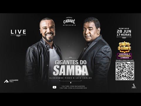 Live Gigantes do Samba | Raça Negra e Alexandre Pires - #FiqueEmCasa com #GigantesDoSamba