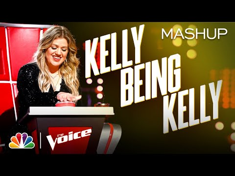 Kelly Clarkson's Reactions Are THE BEST! - The Voice 2020