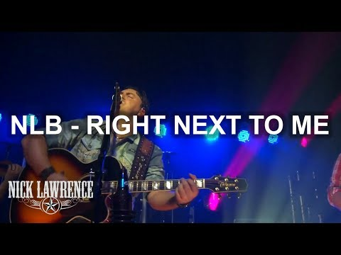 "Nick Lawrence - Live in Concert  - ""Right Next To Me"""