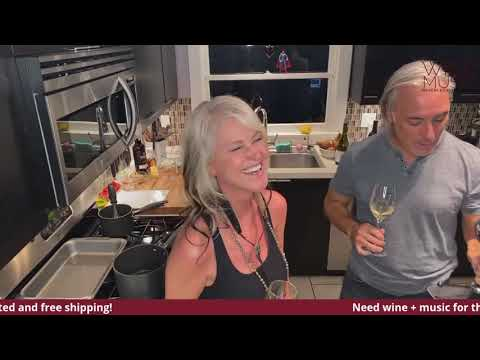 Join Us In Our Kitchen For A LIVE Cooking, Wine Tasting & Music Show