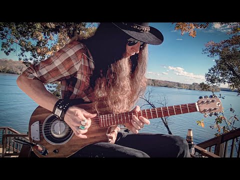 I GOT A WOMAN • Fingerstyle Hill Country Blues • Ray Charles Cover