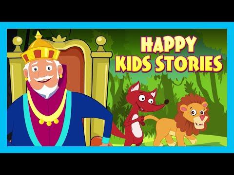 Happy Kids Stories | Kids Hut Storytelling | Tia & Tofu Storytelling | Bedtime Stories For Kids
