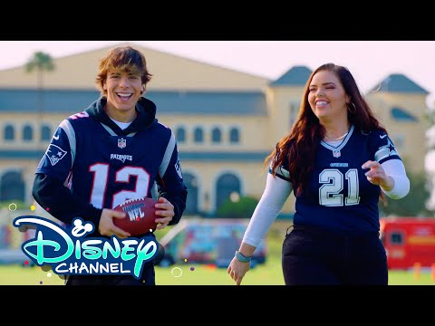 Miranda and Pearce at the FLAG Championships 🏈  | NFL: For the Win | Disney Channel