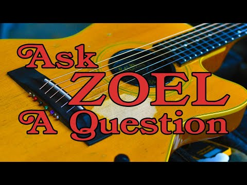 Ask ZOEL A Question: JB's Auxiliary Guitars, Plus Picks and Slides