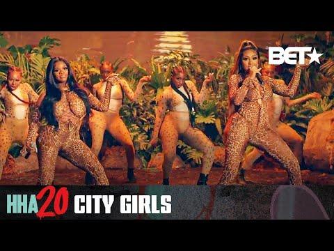 City Girls - Kitty Talk & Jobs (BET Hip-Hop Awards Performance)