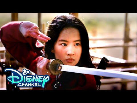 Mulan Challenges with ZOMBIES 2 Stars | Disney Channel