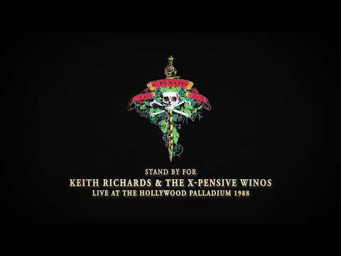 Keith Richards & The X-Pensive Winos – Live at the Hollywood Palladium 1988 – Live Streaming Event