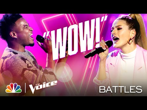 "Jus Jon vs. Payton Lamar - Sam Smith and Normani's ""Dancin' with a Stranger"" - Voice Battles 2020"