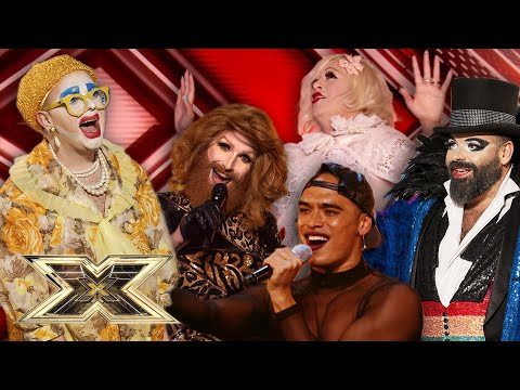 HERE FOR THE GLITZ AND GLAM! Most unique performers! | The X Factor UK