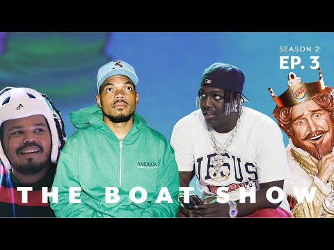 Chicago To LA Feat. Chance The Rapper, Kerwin Frost, & The King | The Boat Show S2 Ep. 3