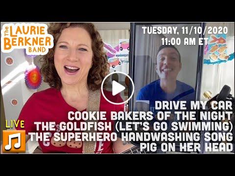 LIVE Berkner Break | Tues., Nov. 10 | Special Guest Tim Kubart | Goldfish, Drive My Car, Pig