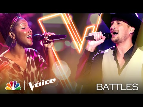 Tanner Gomes and Chloé Hogan Battle for Team Kelly and Team Gwen - The Voice Battles 2020