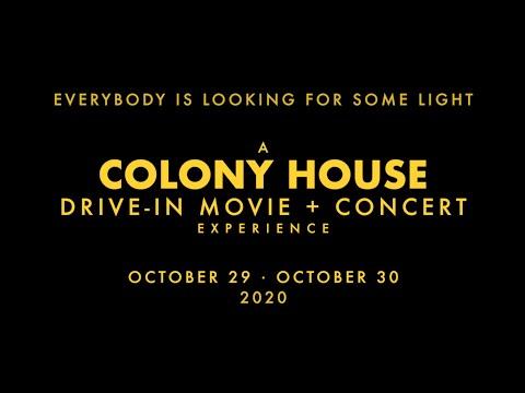 Colony House 2020 Drive-In Recap