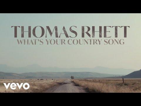 Thomas Rhett - What's Your Country Song (Audio)