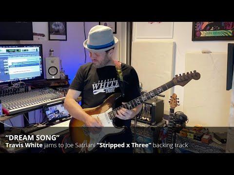 "Travis White jams to Joe Satriani's ""Dream Song"" (Stripped x Three)"