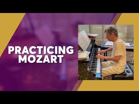 Livestream Highlights: Practicing Mozart