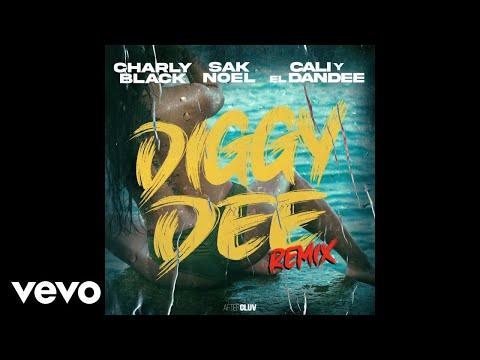 Charly Black, Sak Noel, Cali Y El Dandee - Diggy Dee (Remix / Audio)