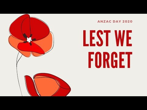 Acoustic Wednesdays 11th November 2020 *Lest we forget*