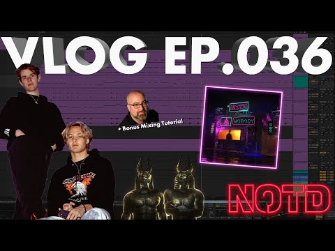 """How We Made """"Nobody"""" with Catello - Production & Mixing Tutorial (NOTD Vlog: Episode 035)"""