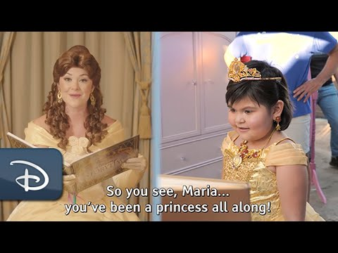 A Royal Wish With a Little Help From Princess Belle | Make-A-Wish & Disney