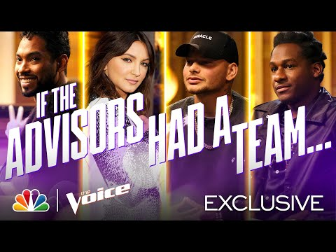 If advisors Miguel, Kane Brown, Julia Michaels and Leon Bridges Had a Team - The Voice Battles 2020