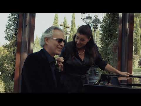 Andrea Bocelli, Cecilia Bartoli – Pianissimo (Behind The Scenes)