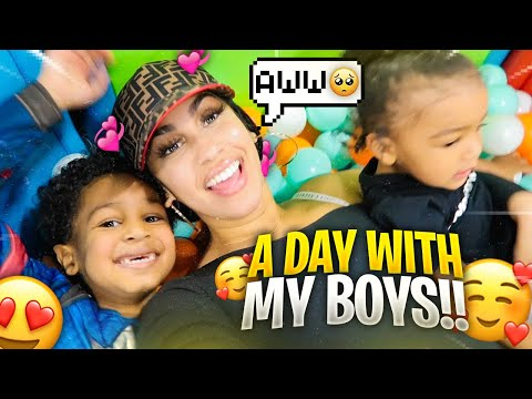 JUST ME AND MY BOYS!! (Mommy Vlog) | Life Outside of Music