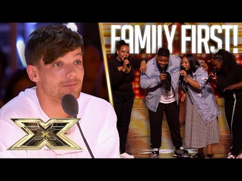 KEEPING IT IN THE FAMILY! When relatives form SUPER GROUPS! | The X Factor UK