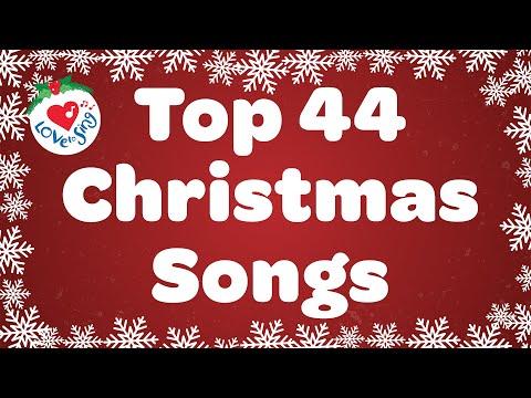 Top 44 Christmas Songs and Carols with Lyrics 2020 🎄
