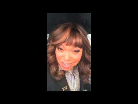 Tisha heading to Access at Hollywood