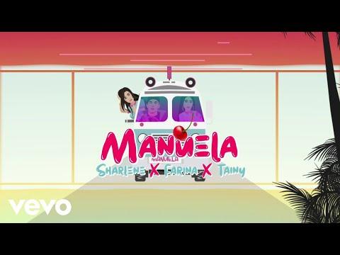 Sharlene, Farina, Tainy - Manuela (Lyric Video)
