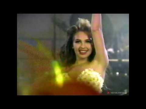 """Thalia - Amarillo Azul - Especial """"Love y Sus Fantasías"""" 1994"""