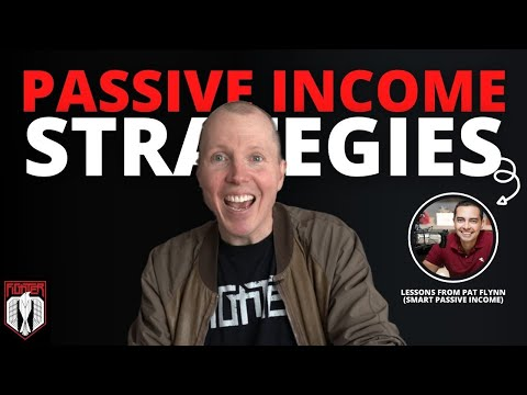 Passive Income Strategies I 5 Tips I Learned From Pat Flynn