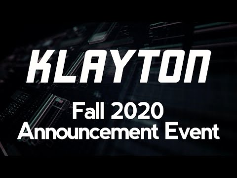 Klayton: Fall 2020 Announcement Event (Celldweller, Scandroid, Circle of Dust, FreqGen)