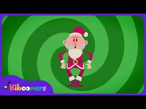 Rocking Santa | Christmas Songs for kids |  The Kiboomers | Santa Songs for Children