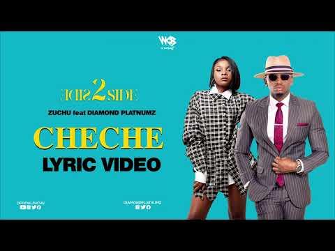 Zuchu Ft Diamond Platnumz - Cheche (Lyric Video)