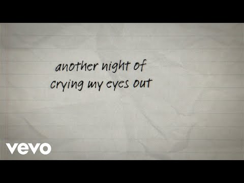 Stephen Puth - Crying My Eyes Out (Lyric Video)