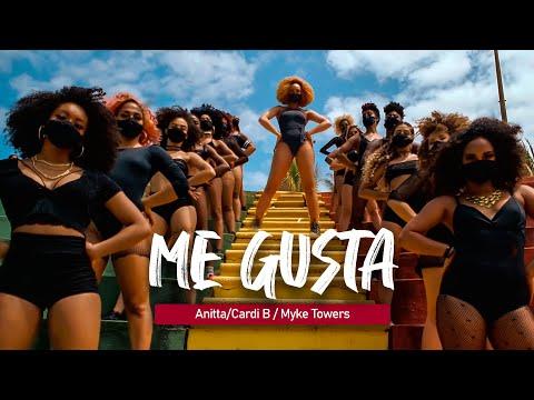 ME GUSTA - Anitta - Cardi B - Myke Towers | Coreografia | Edilene Alves