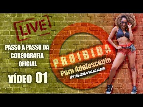 PASSO A PASSO 1 - PROIBIDA PARA ADOLESCENTE - Léo Santana | Coreografia | Edilene Alves