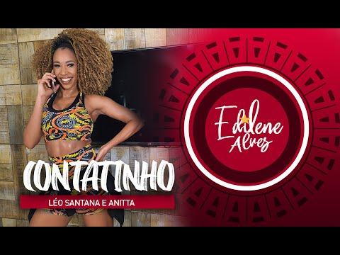 CONTATINHO - Léo Santana e Anitta  | Coreografia - Edilene Alves