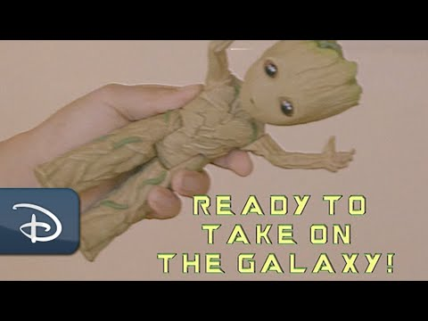 All-New Interactive Baby Groot Action-Figure | Disney Parks