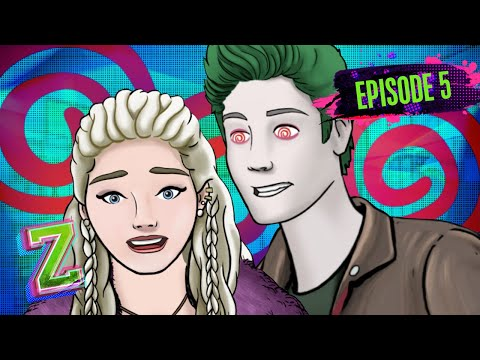 Zed's Under Her Spell 😍    Episode 5   ZOMBIES: Addison's Moonstone Mystery   Disney Channel