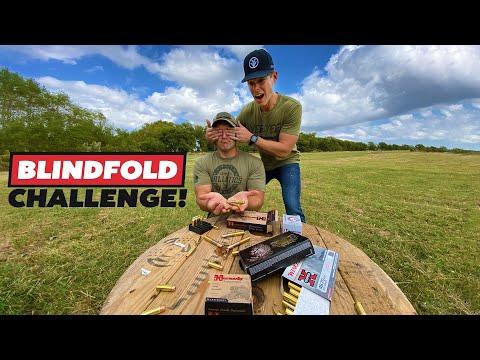Blindfold Ammo Challenge w/Kentucky Ballistics