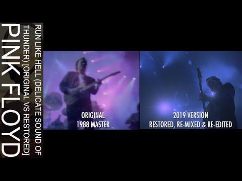 Pink Floyd - Run Like Hell (Delicate Sound Of Thunder) [Original Vs Restored]